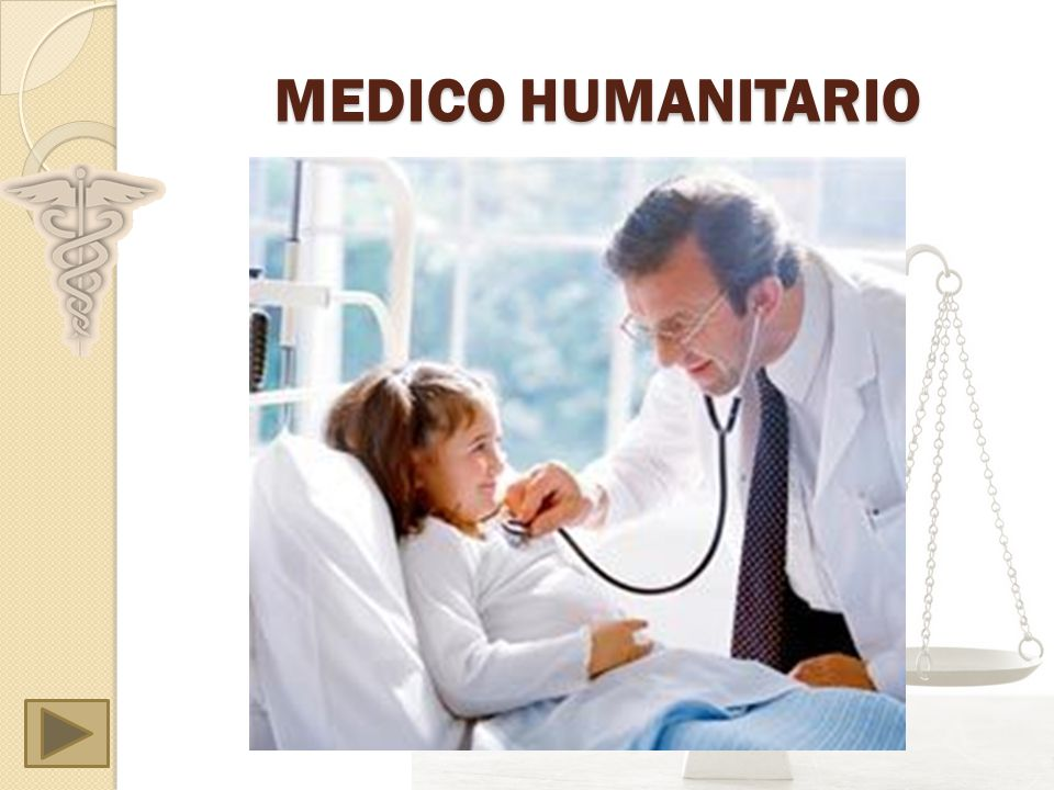MEDICO HUMANITARIO