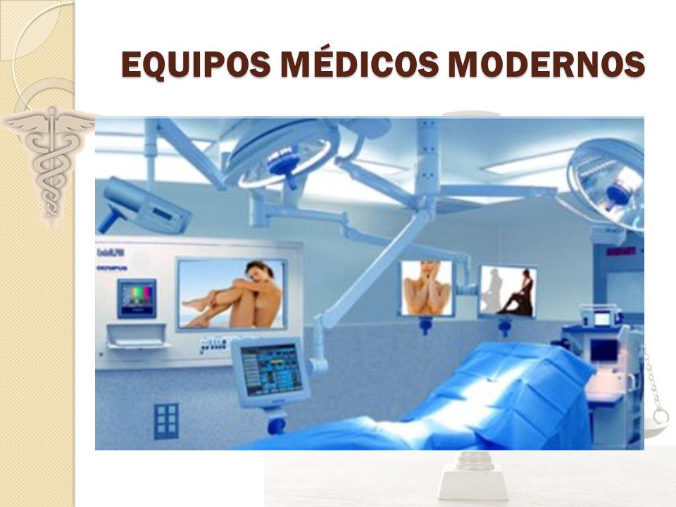 EQUIPOS MÉDICOS MODERNOS