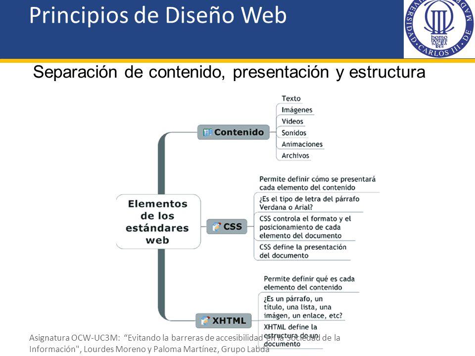 Principios de Diseño Web