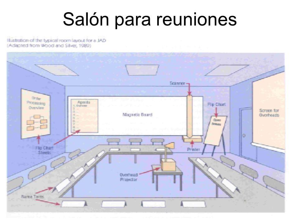 Salón para reuniones
