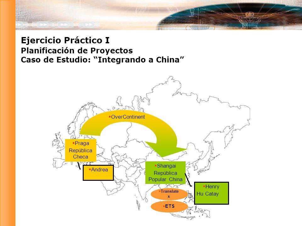 Ejercicio Práctico I Planificación de Proyectos