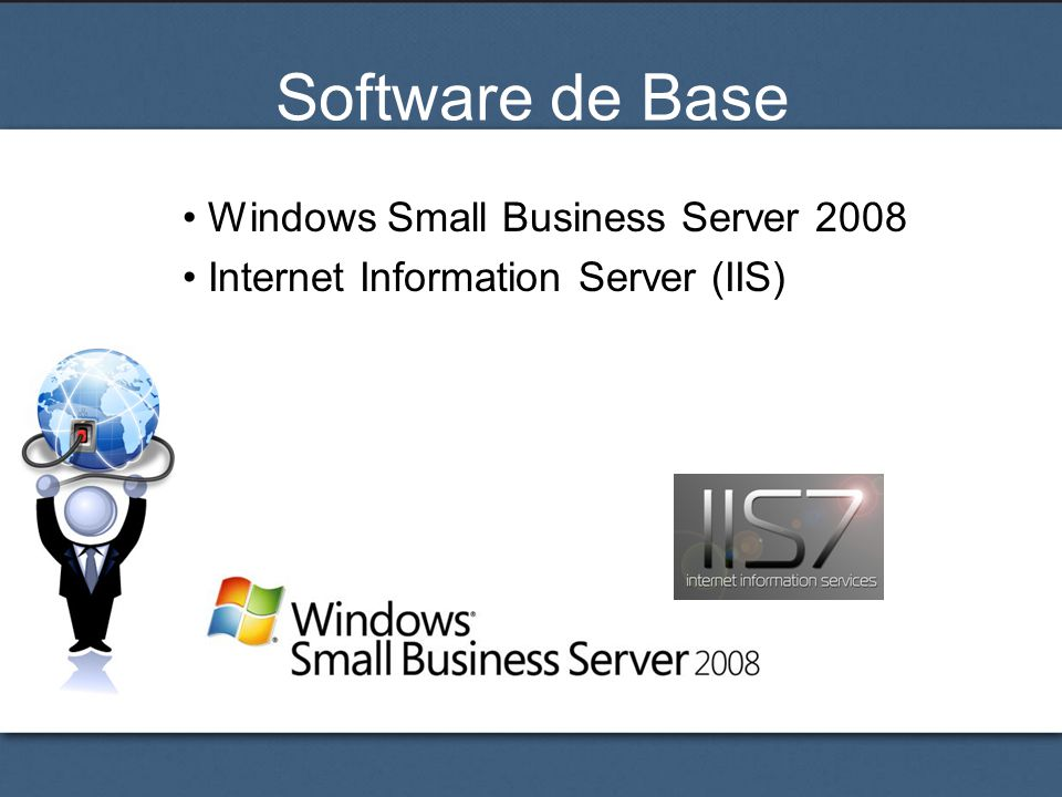 Software de Base Windows Small Business Server 2008