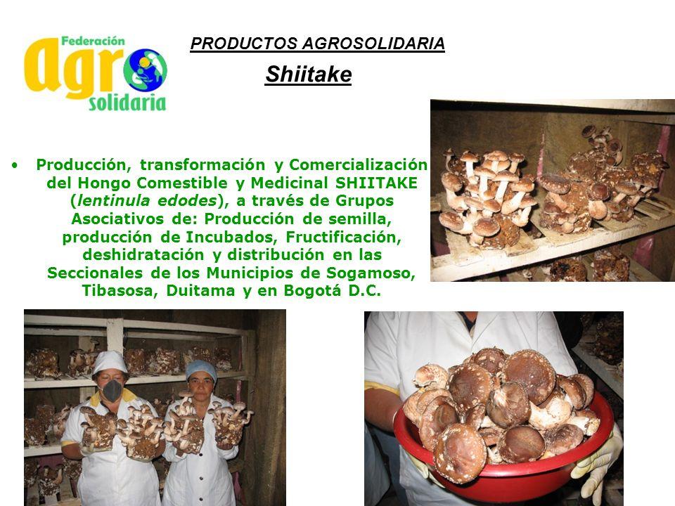 Shiitake PRODUCTOS AGROSOLIDARIA
