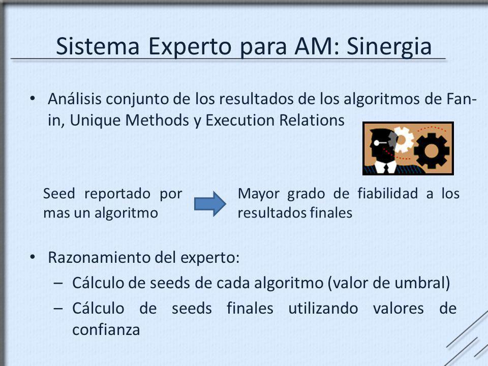 Sistema Experto para AM: Sinergia