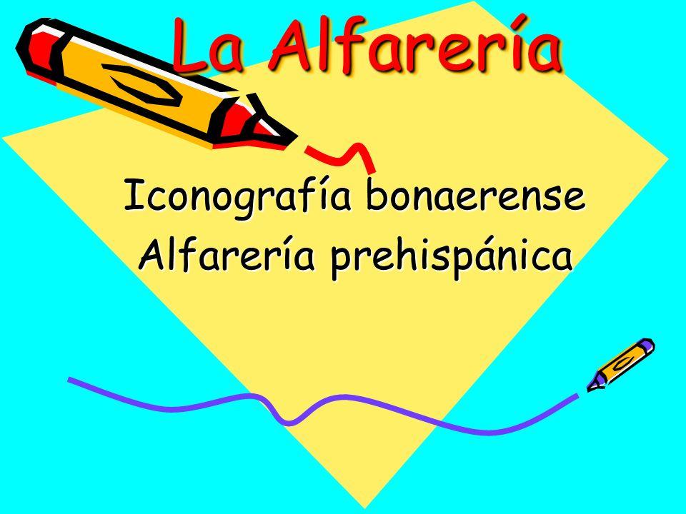 Iconografía bonaerense Alfarería prehispánica