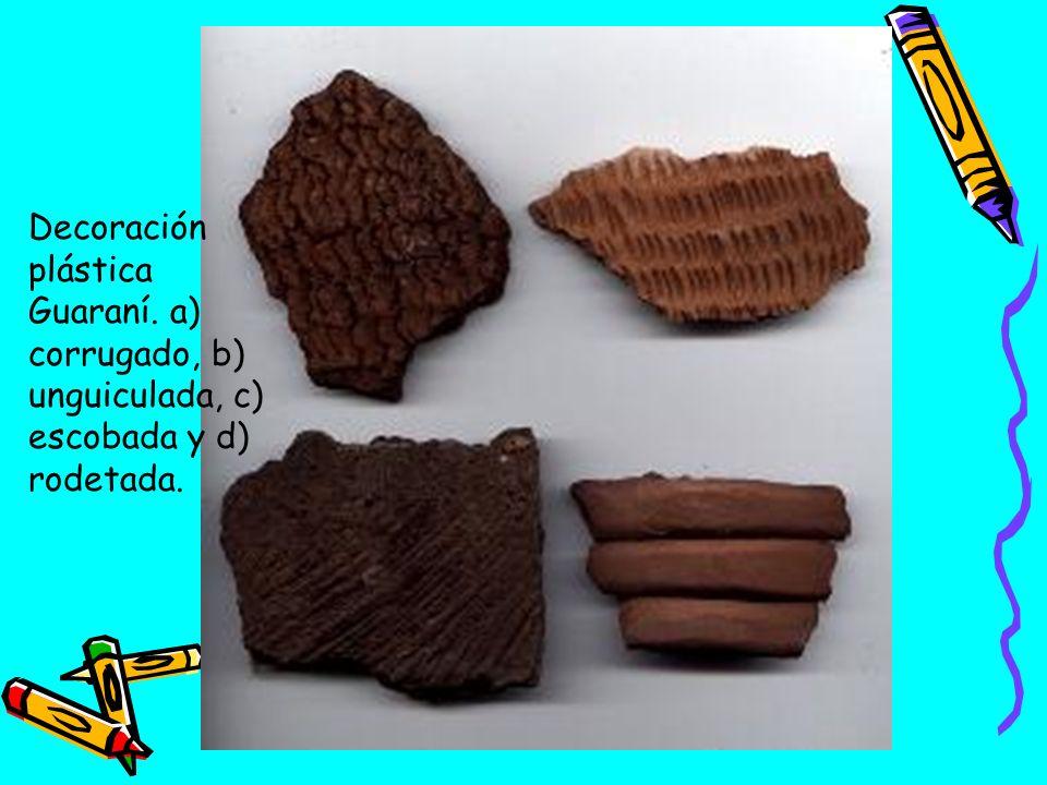 Decoración plástica Guaraní
