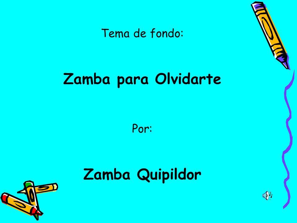 Zamba para Olvidarte Zamba Quipildor
