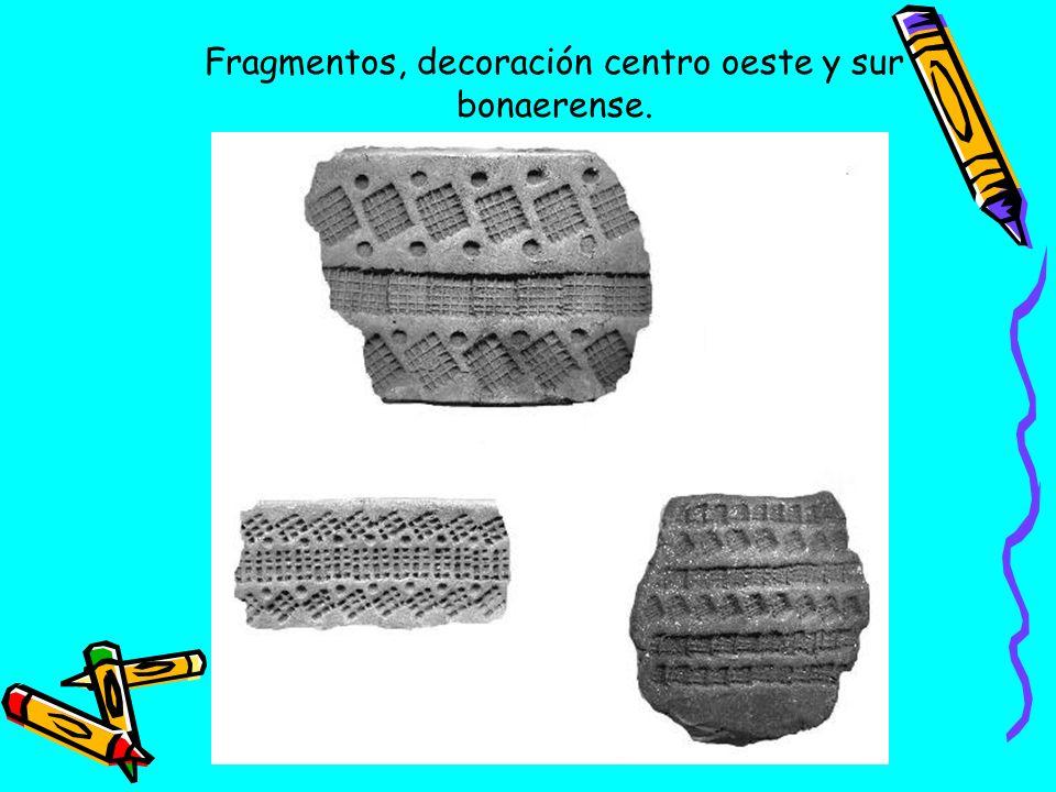 Fragmentos, decoración centro oeste y sur bonaerense.