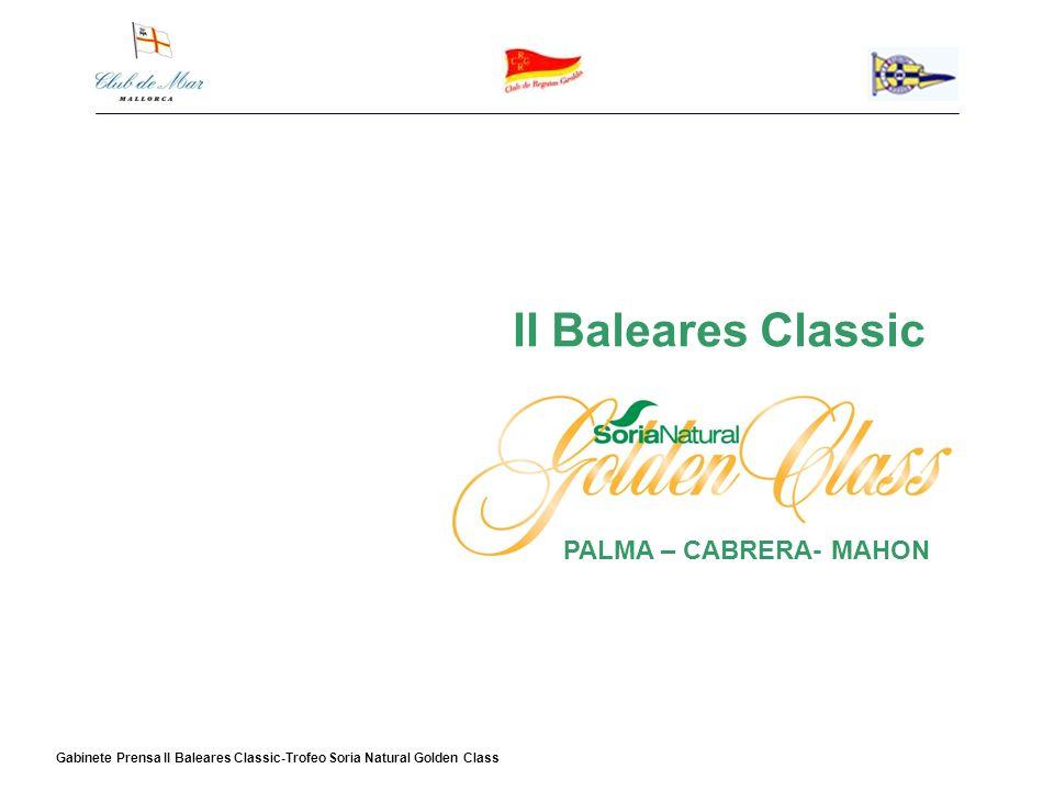 II Baleares Classic PALMA – CABRERA- MAHON