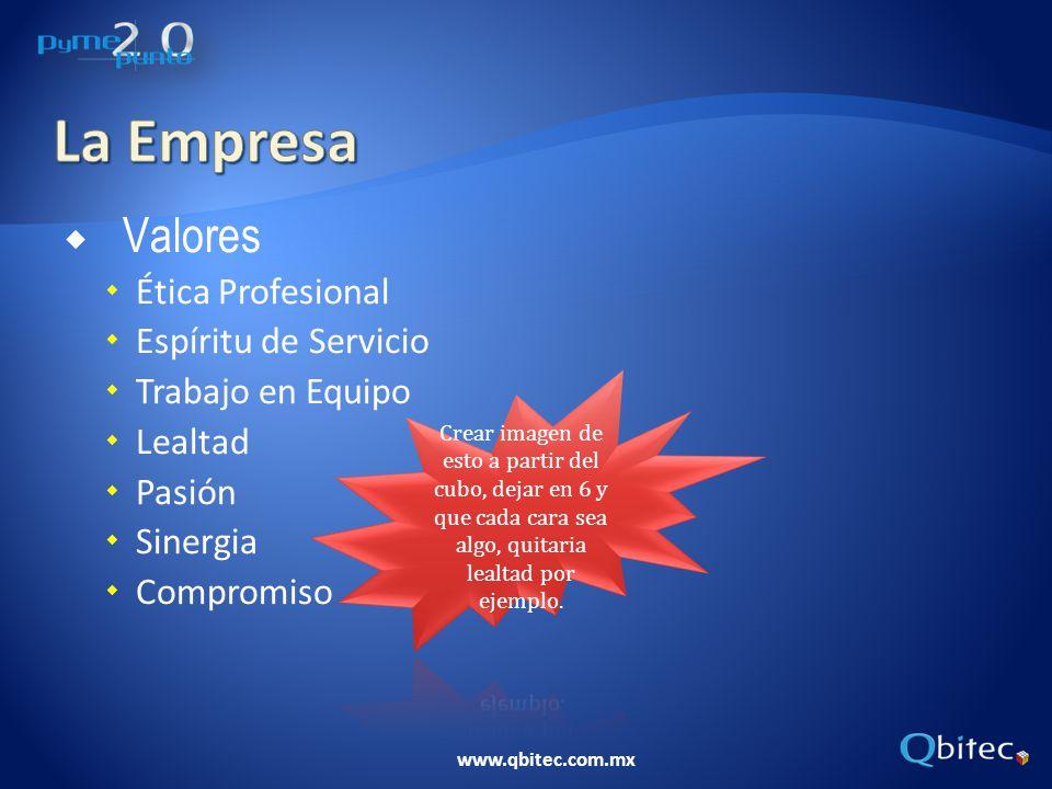 La Empresa Valores Ética Profesional Espíritu de Servicio