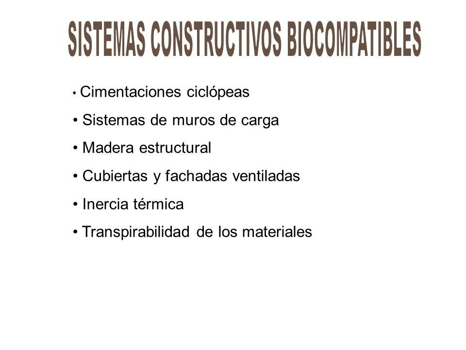 SISTEMAS CONSTRUCTIVOS BIOCOMPATIBLES