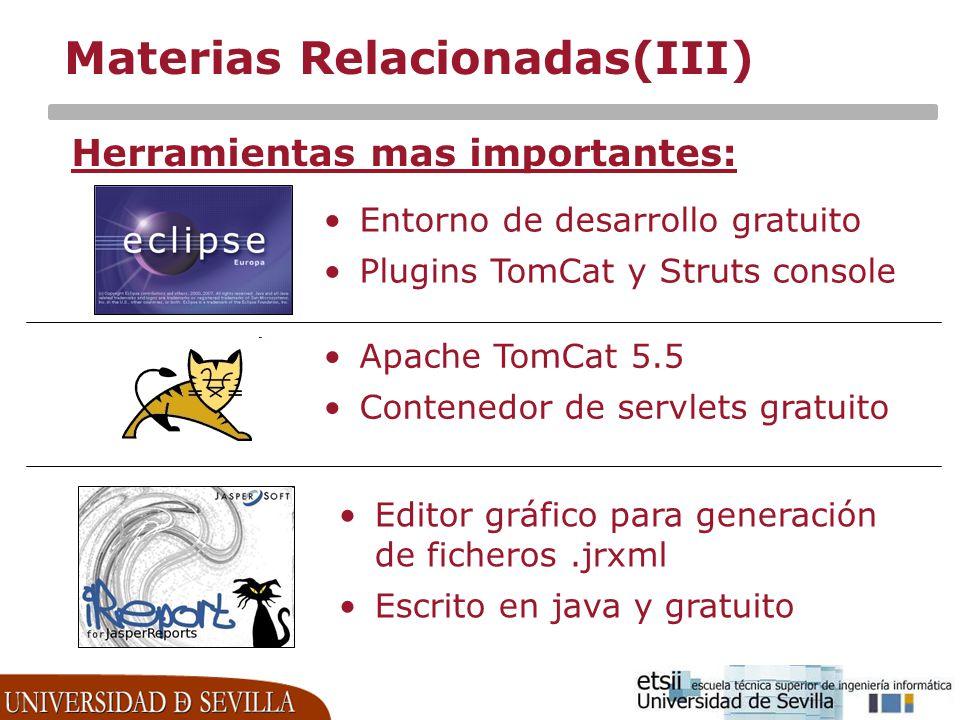 Materias Relacionadas(III)