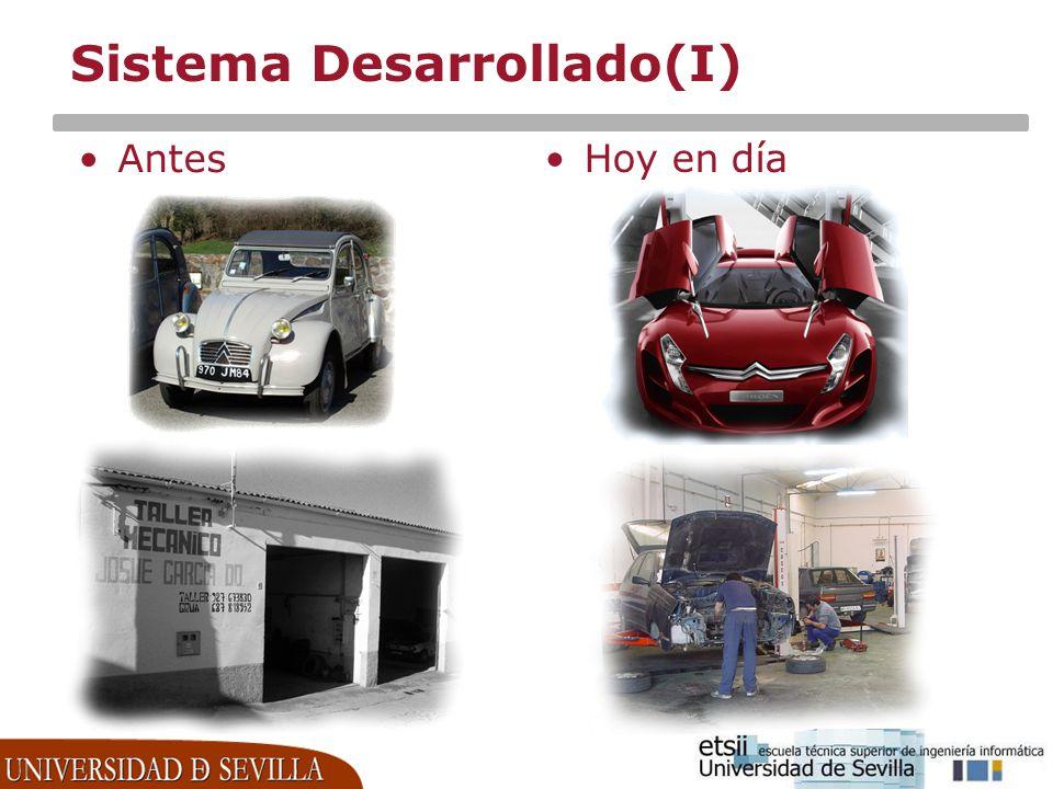 Sistema Desarrollado(I)