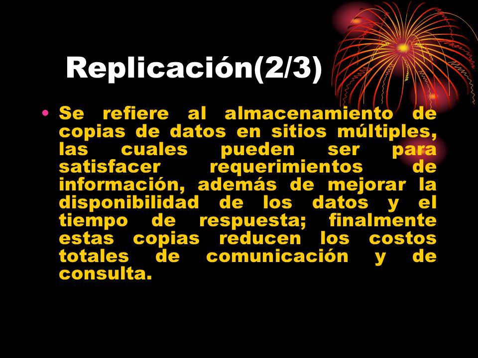 Replicación(2/3)