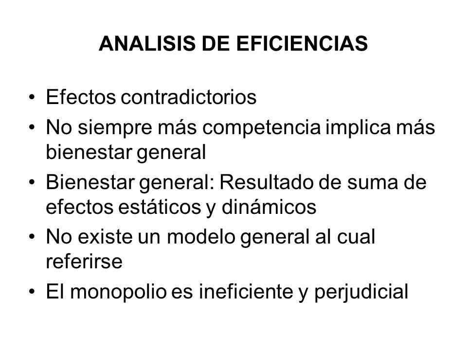 ANALISIS DE EFICIENCIAS