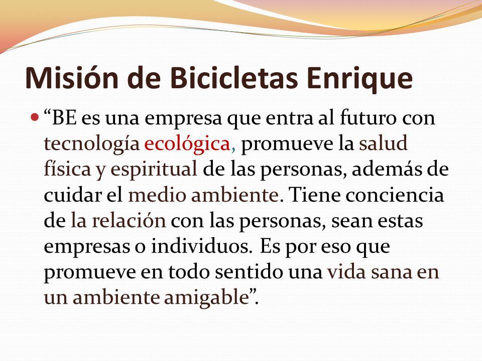 Misión de Bicicletas Enrique
