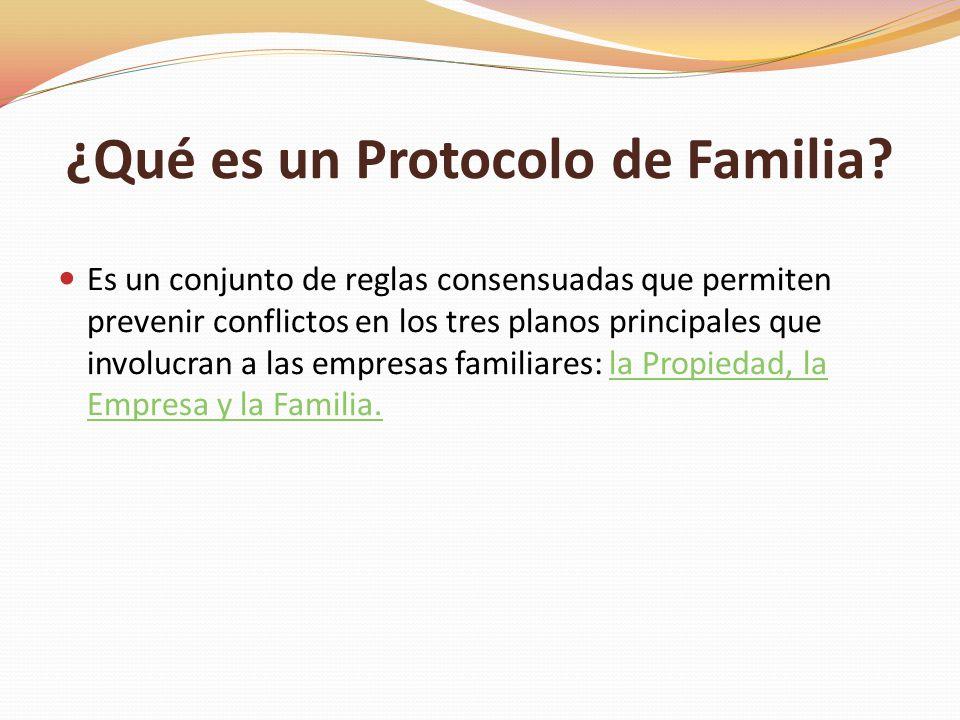 ¿Qué es un Protocolo de Familia