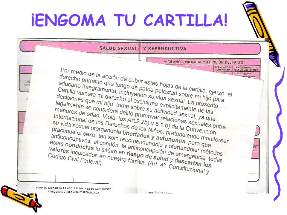¡ENGOMA TU CARTILLA!