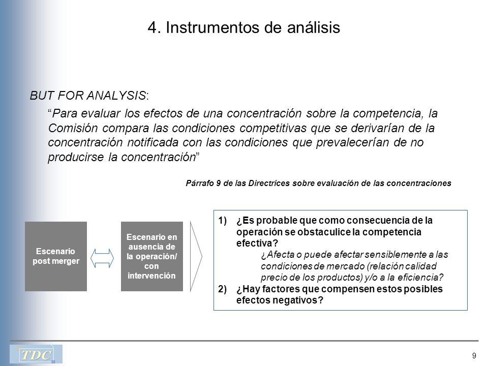 4. Instrumentos de análisis