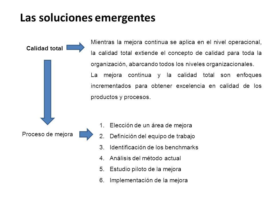 Las soluciones emergentes