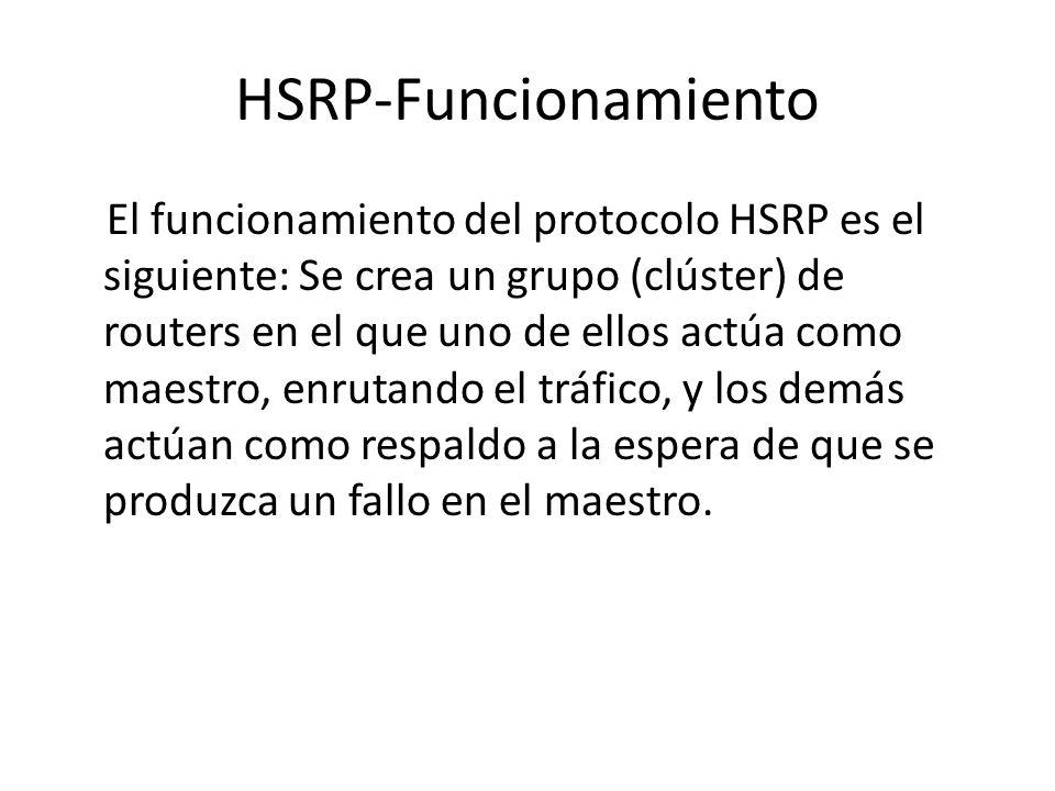 HSRP-Funcionamiento