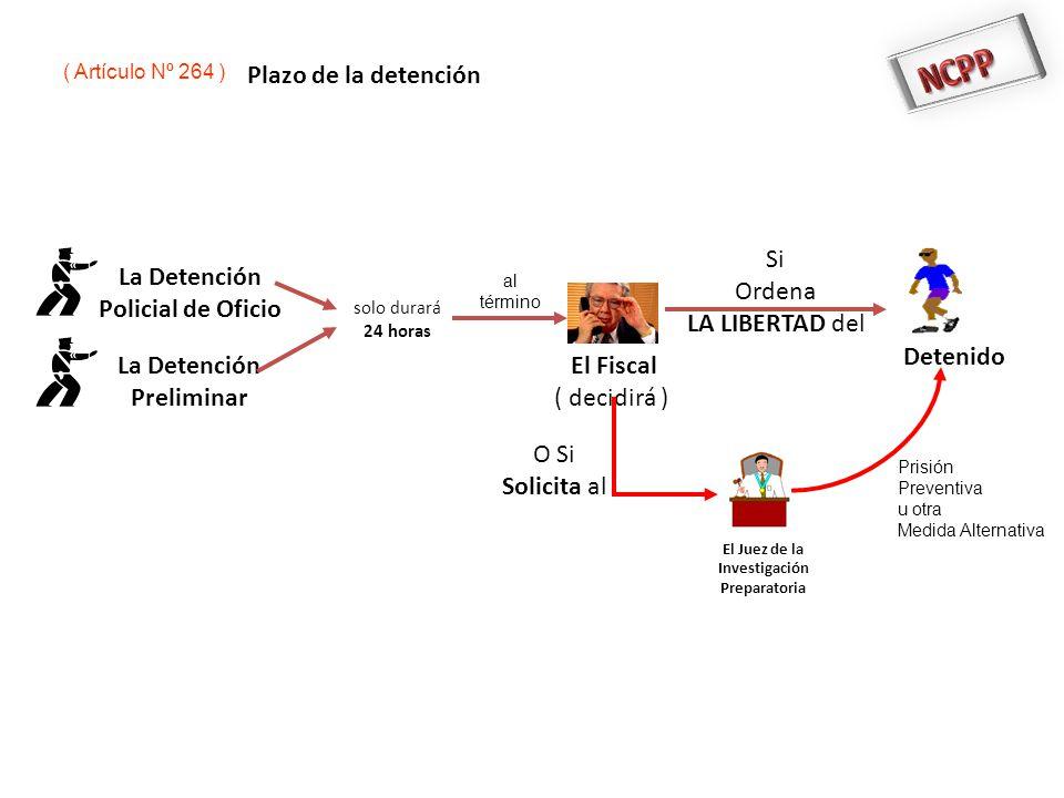 NCPP Plazo de la detención Si Ordena LA LIBERTAD del La Detención