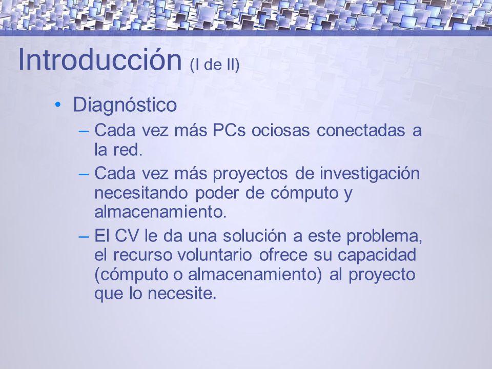 Introducción (I de II) Diagnóstico