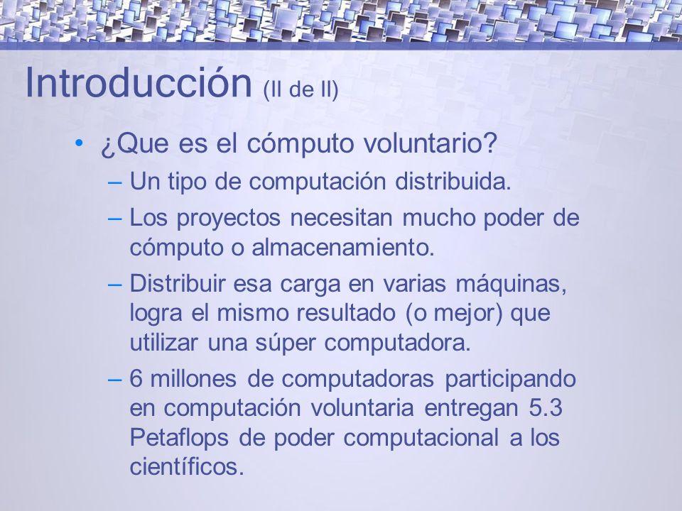 Introducción (II de II)