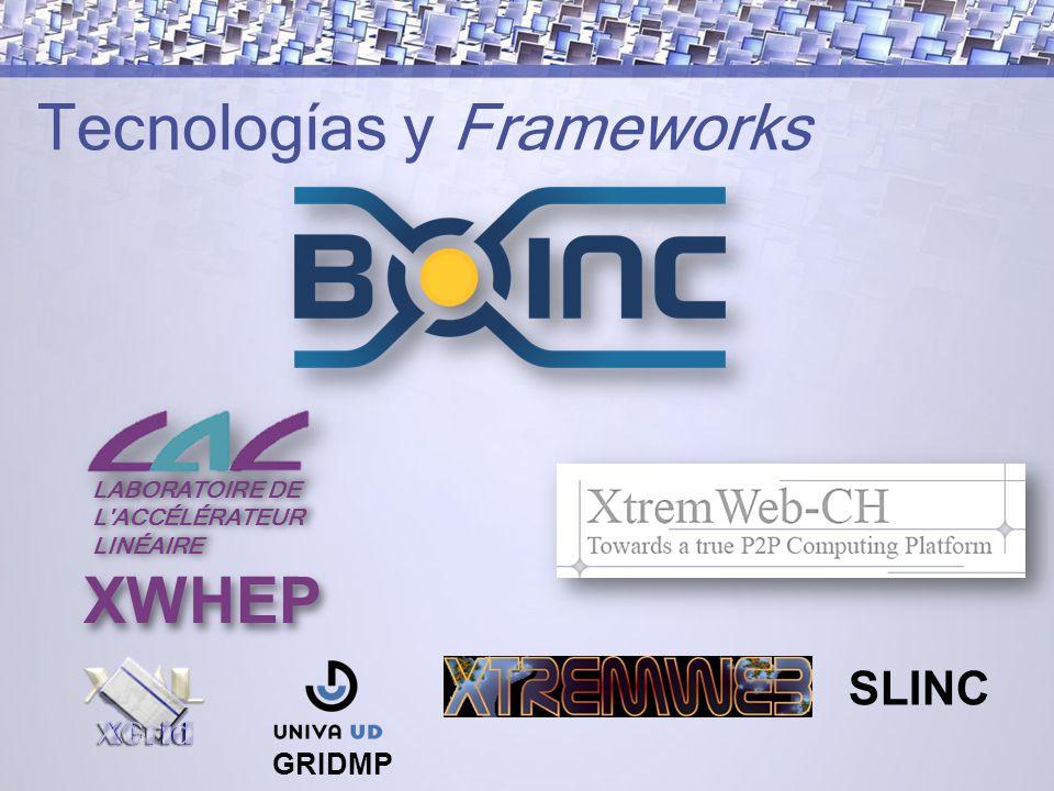 Tecnologías y Frameworks
