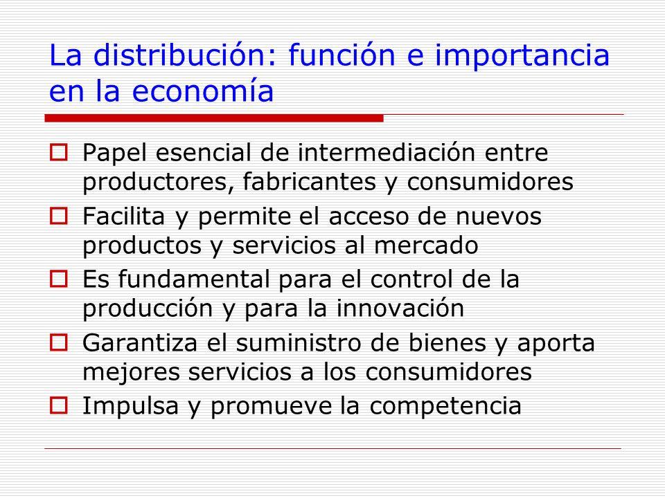 La distribución: función e importancia en la economía