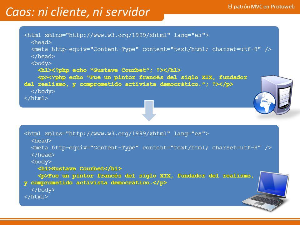 Caos: ni cliente, ni servidor