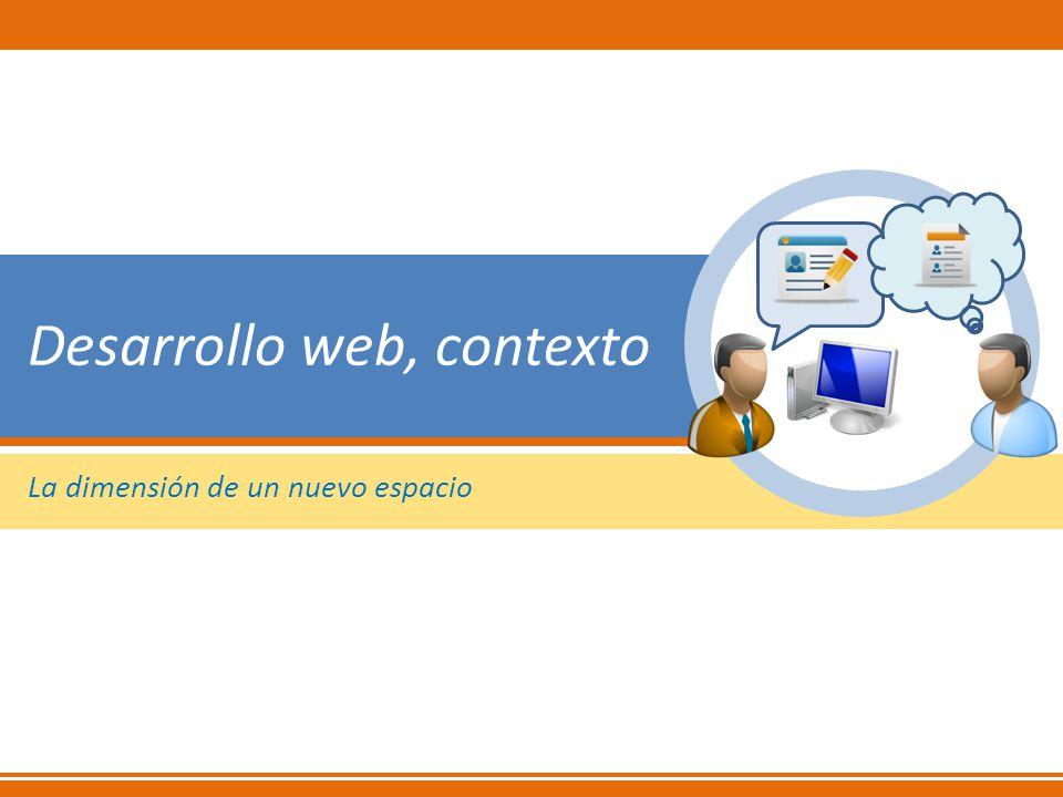 Desarrollo web, contexto