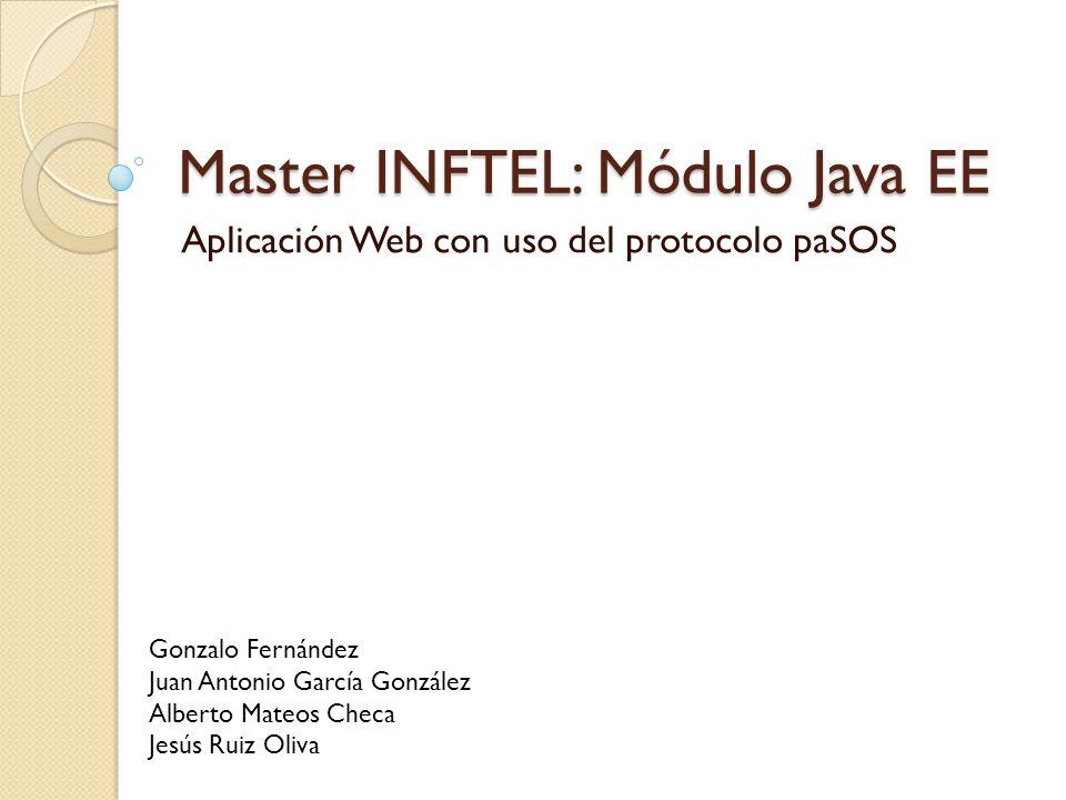 Master INFTEL: Módulo Java EE