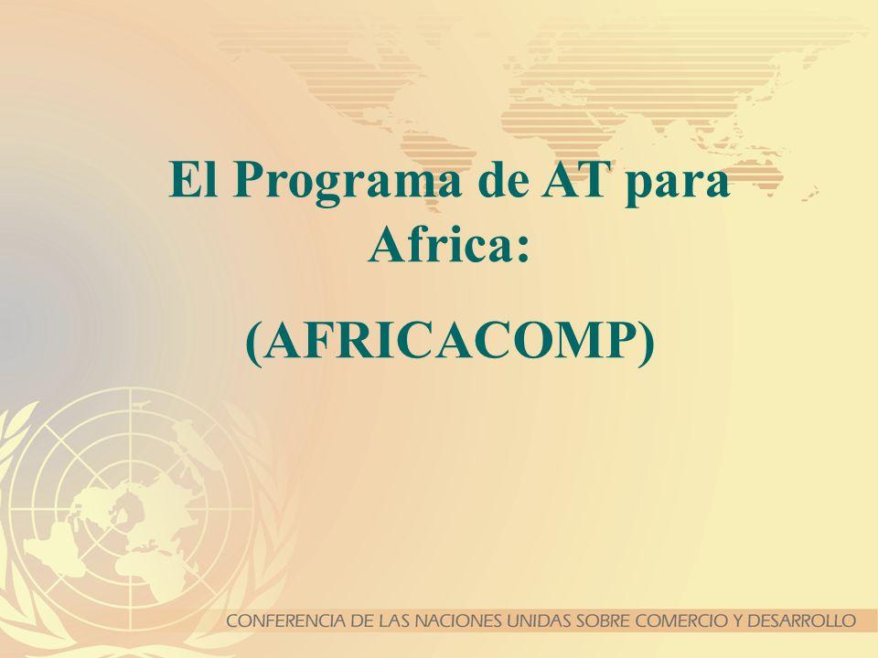 El Programa de AT para Africa: