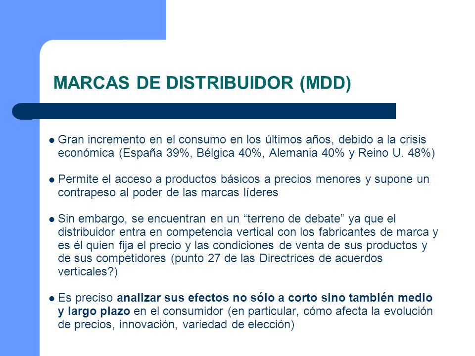 MARCAS DE DISTRIBUIDOR (MDD)