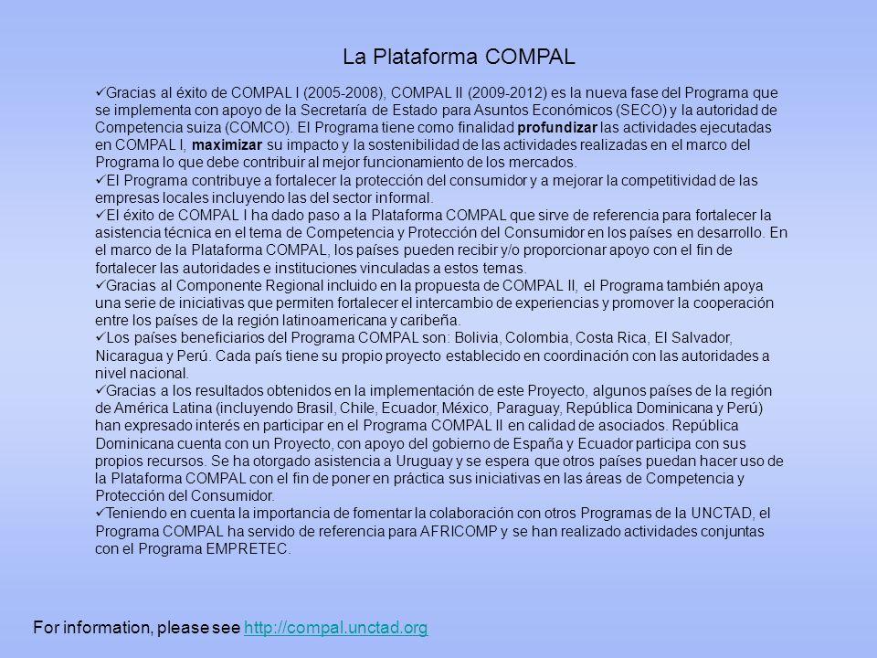 La Plataforma COMPAL