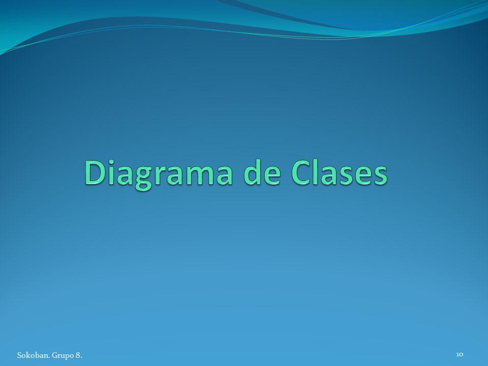 Diagrama de Clases Sokoban. Grupo 8.