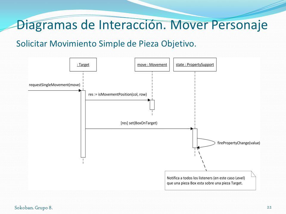 Diagramas de Interacción. Mover Personaje