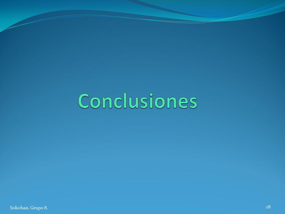Conclusiones Sokoban. Grupo 8.