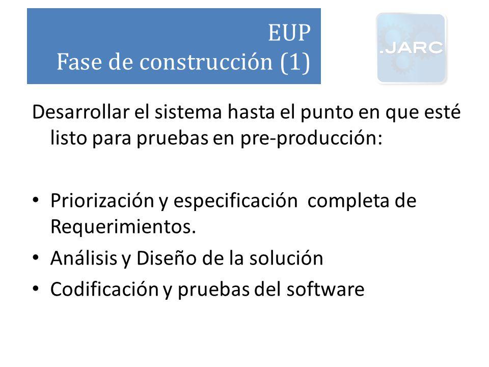 Fase de construcción (1)
