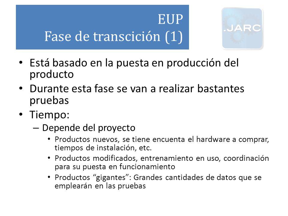 EUP Fase de transcición (1)