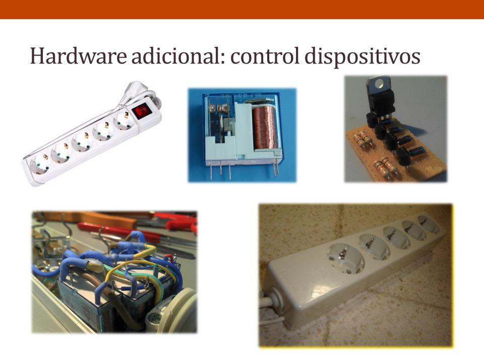 Hardware adicional: control dispositivos