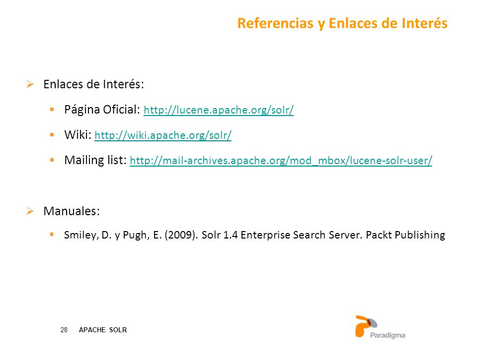 Referencias y Enlaces de Interés