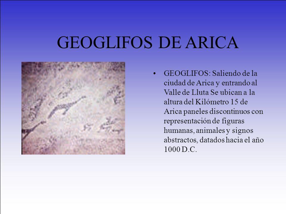 GEOGLIFOS DE ARICA