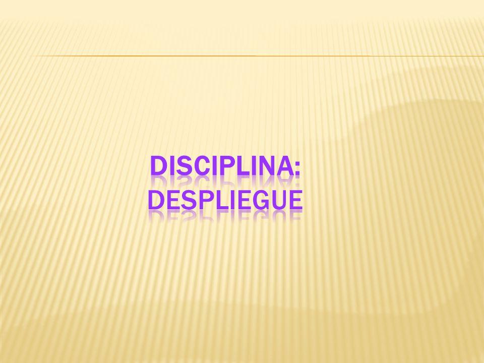 Disciplina: Despliegue