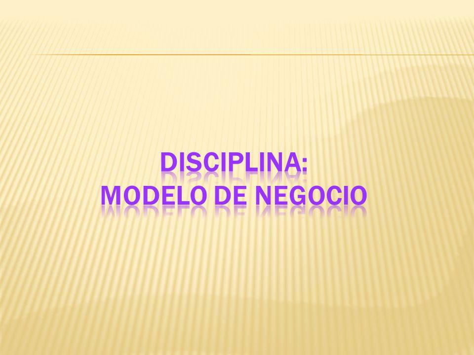 Disciplina: Modelo de Negocio