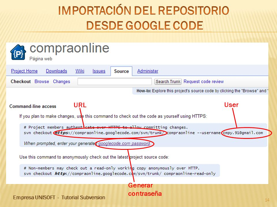 IMPORTACIÓN DEL REPOSITORIO