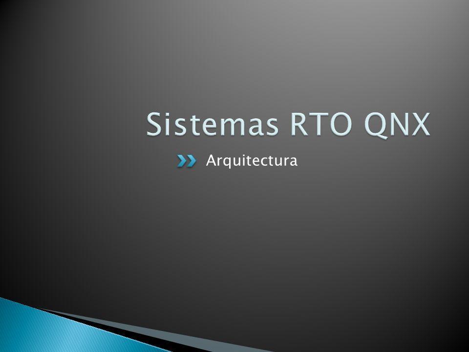 Sistemas RTO QNX Arquitectura