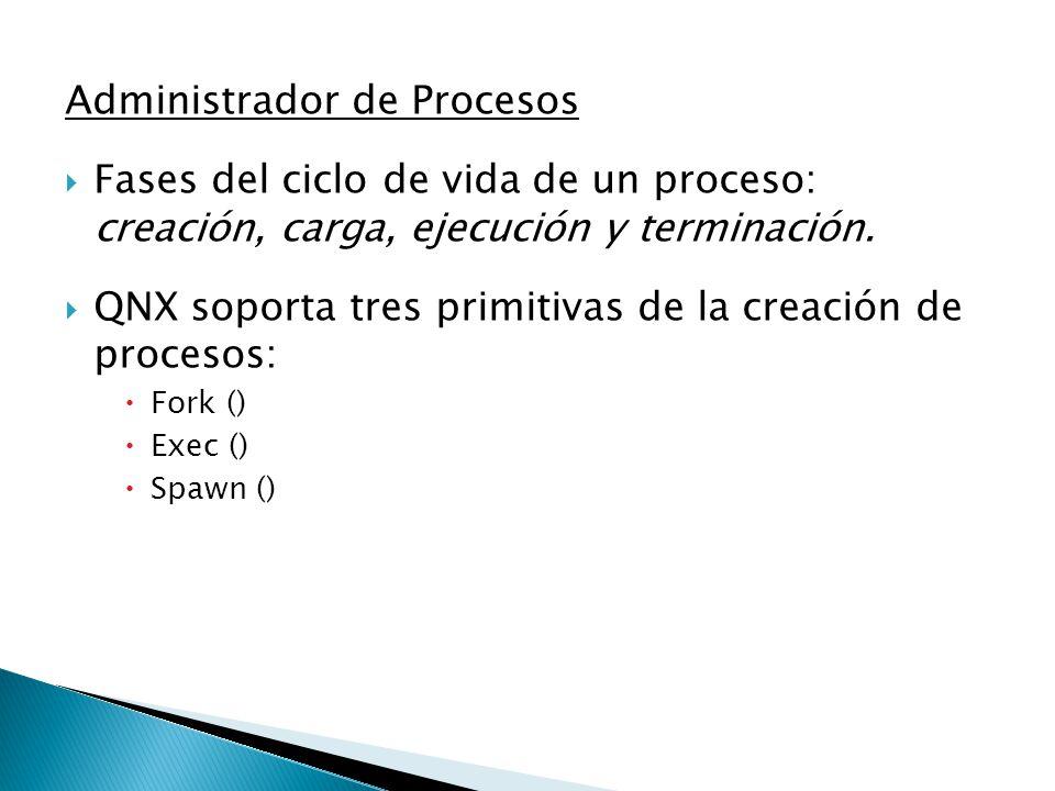 Administrador de Procesos