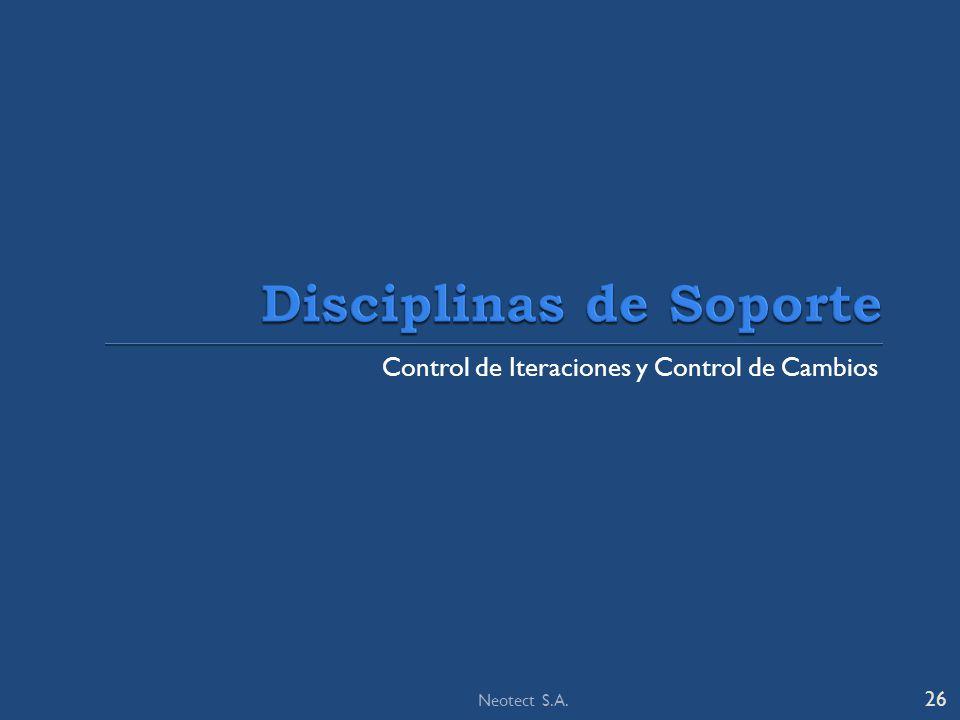 Disciplinas de Soporte